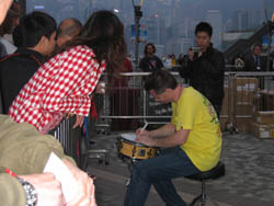 Chris Brien @ Tom Lee Festival - Hong Kong 2007